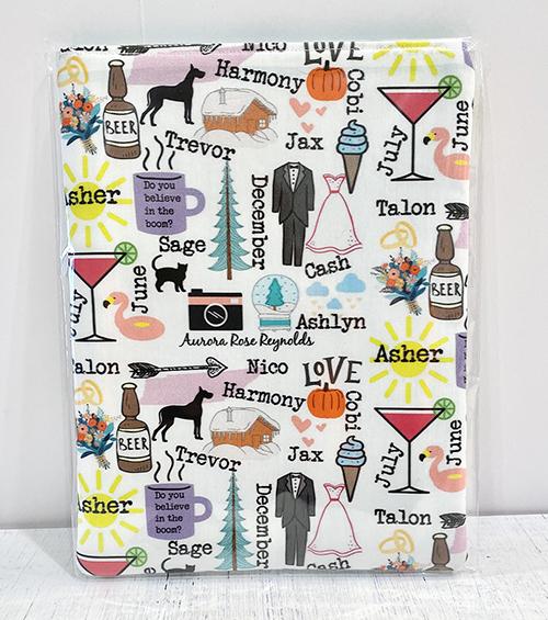 Custom Designed Book Sleeve